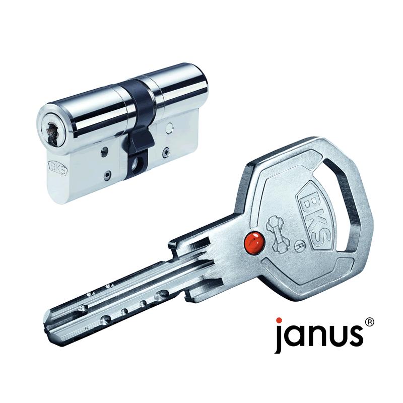 BKS Janus 46 Wendeschlüsselschließsystem