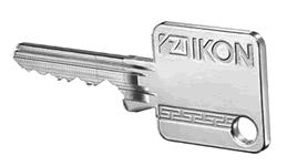 FP04 Schlüssel im SK6 System von IKON