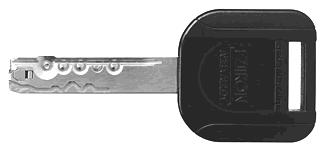 IKON R10 Wendeschlüssel mit Kunststoffkappe