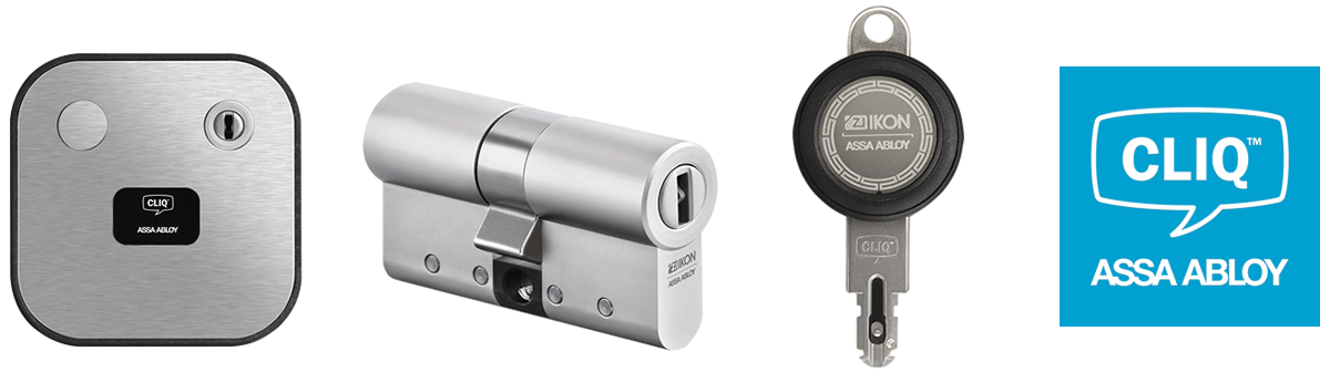 IKON Cliq Go System - Schließzylinder, Programmiergerät, Schlüssel