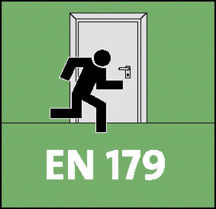 Panikschlösser nach DIN EN179