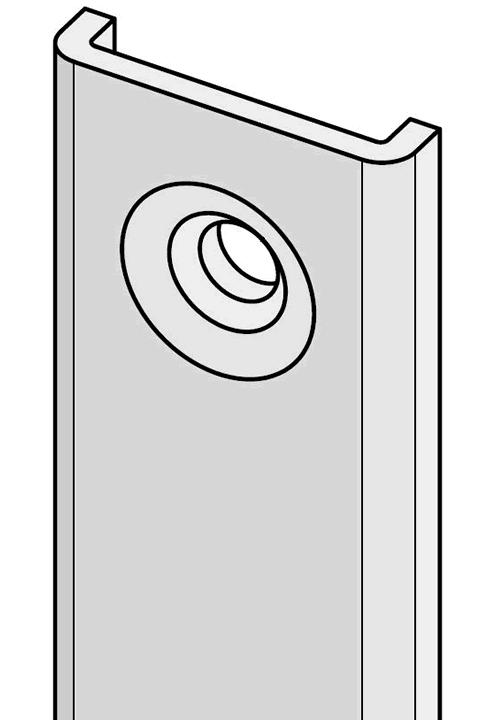 U-Profil-Schließblech