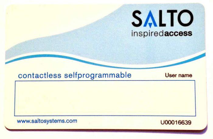 Benutzerkarte für SALTO Schließsysteme