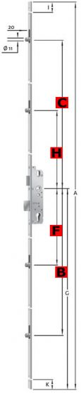 AS8092 Rollzapfenverriegelung