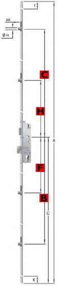 AS9800 Rollzapfenverriegelung