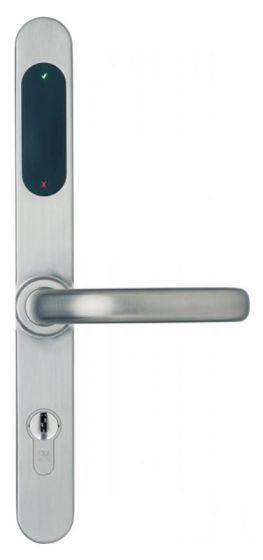 Anykey Sicherheitsbeschlag mit Profilzylinderlochung
