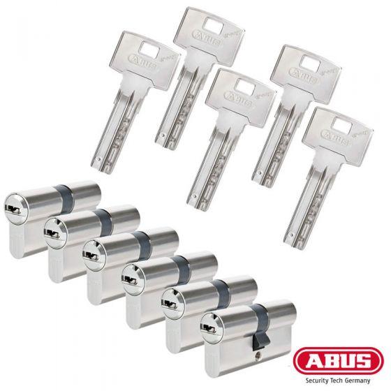 ABUS Bravus 3000 Schließzylinder Set   Bestehend aus 6 Profilzylinder