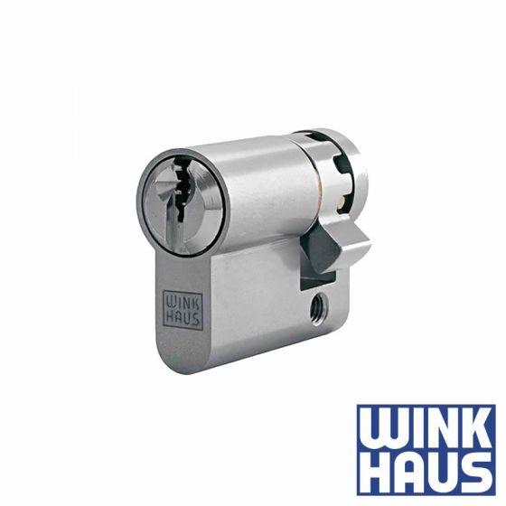 Winkhaus AZ+ Halbzylinder mit achtfach verstellbarem Schließbart
