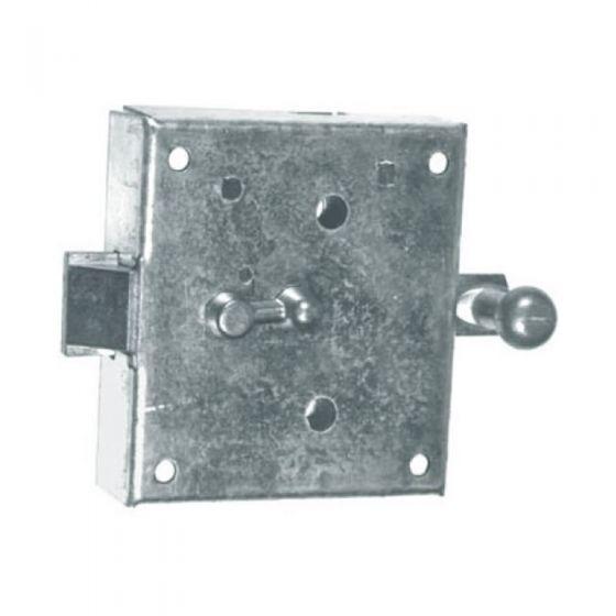 Knopfriegelschloss für Abstellkammern