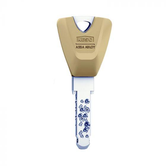KESO 8000 Omega² Trapezschlüssel mit Farbkappe - Farbe: Latte Macchiato