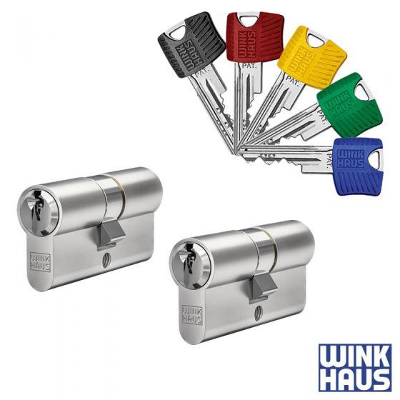 WINKHAUS RPE Schließzylinder 2er Set | 2 Profilzylinder