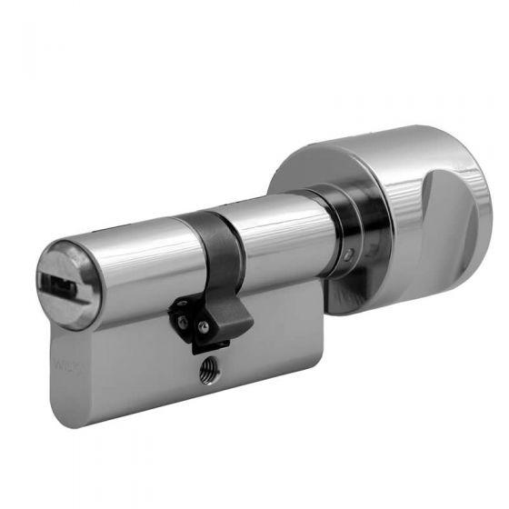 Knaufzylinder Wilka 3VE Wendeschlüsseltechnologie