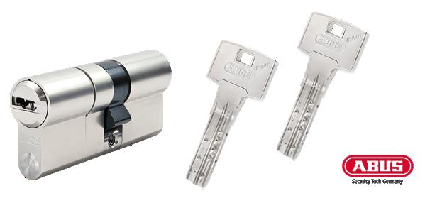 ABUS Bravus 3500 MX Schließzylinder und Schlüssel