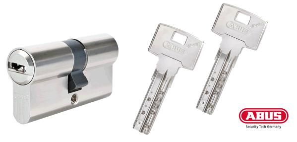 ABUS Bravus 2000 Schließzylinder und Schlüssel