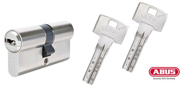 ABUS Bravus 3000 Schließzylinder und Schlüssel