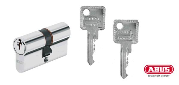 ABUS C73/C83 Schließzylinder und Schlüssel