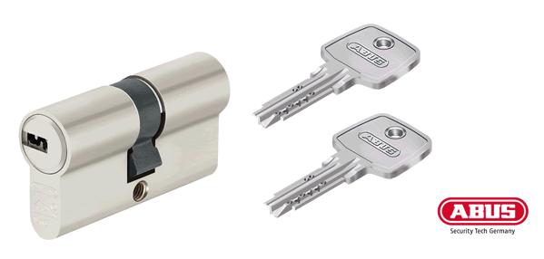 ABUS EC550 Schließzylinder und Schlüssel