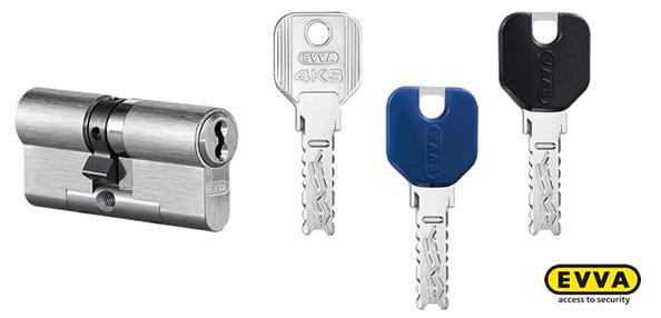 EVVA Schließzylinder und Schlüssel