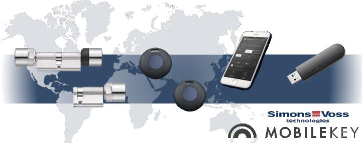 SimonsVoss MobileKey - Verwalten Sie Ihre Schlösser vom Handy aus