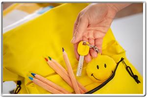 ProCap Schlüssel mit kräftigem Gelb