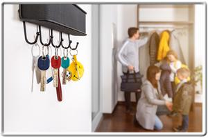 ProCap Schlüssel mit unterschiedlichen Farben zur Besserung Ordnung