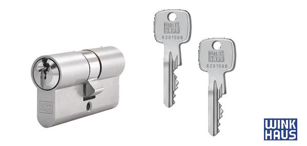WINKHAUS keyOne X-pert Zylinder und Schlüssel