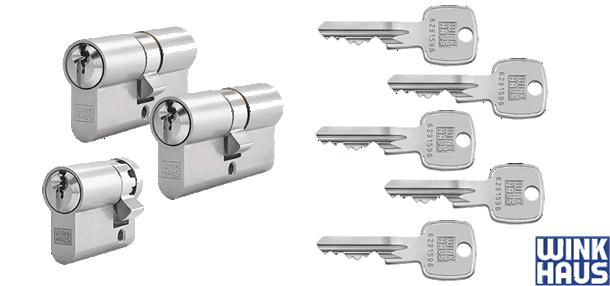 WINKHAUS Schließzylindersets - System X-pert