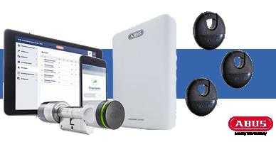 ABUS wAppLoxx Schließsystem